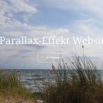 Demo Parallax Website